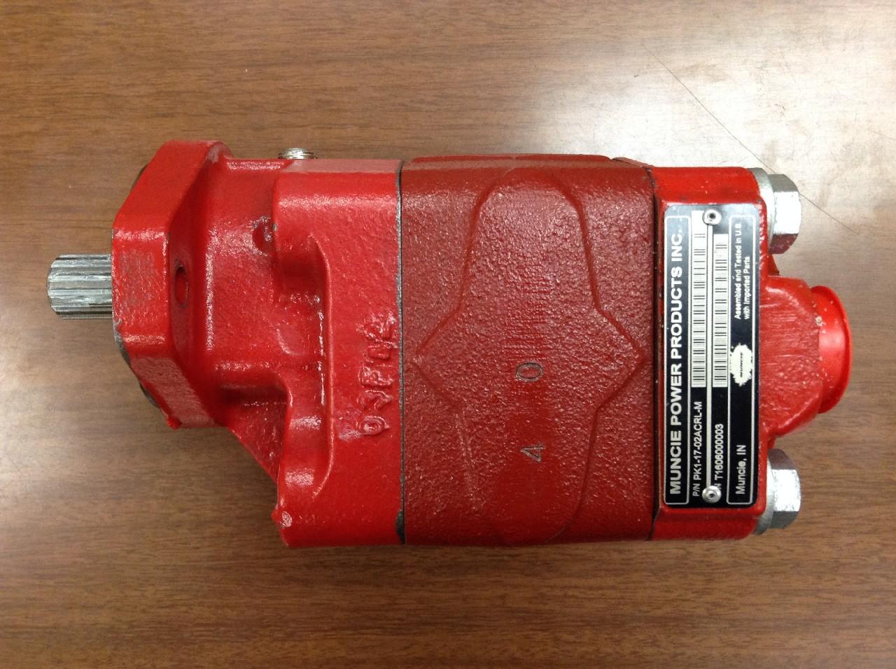 MUNCIE PK11702ACRLM Hydraulic Pump