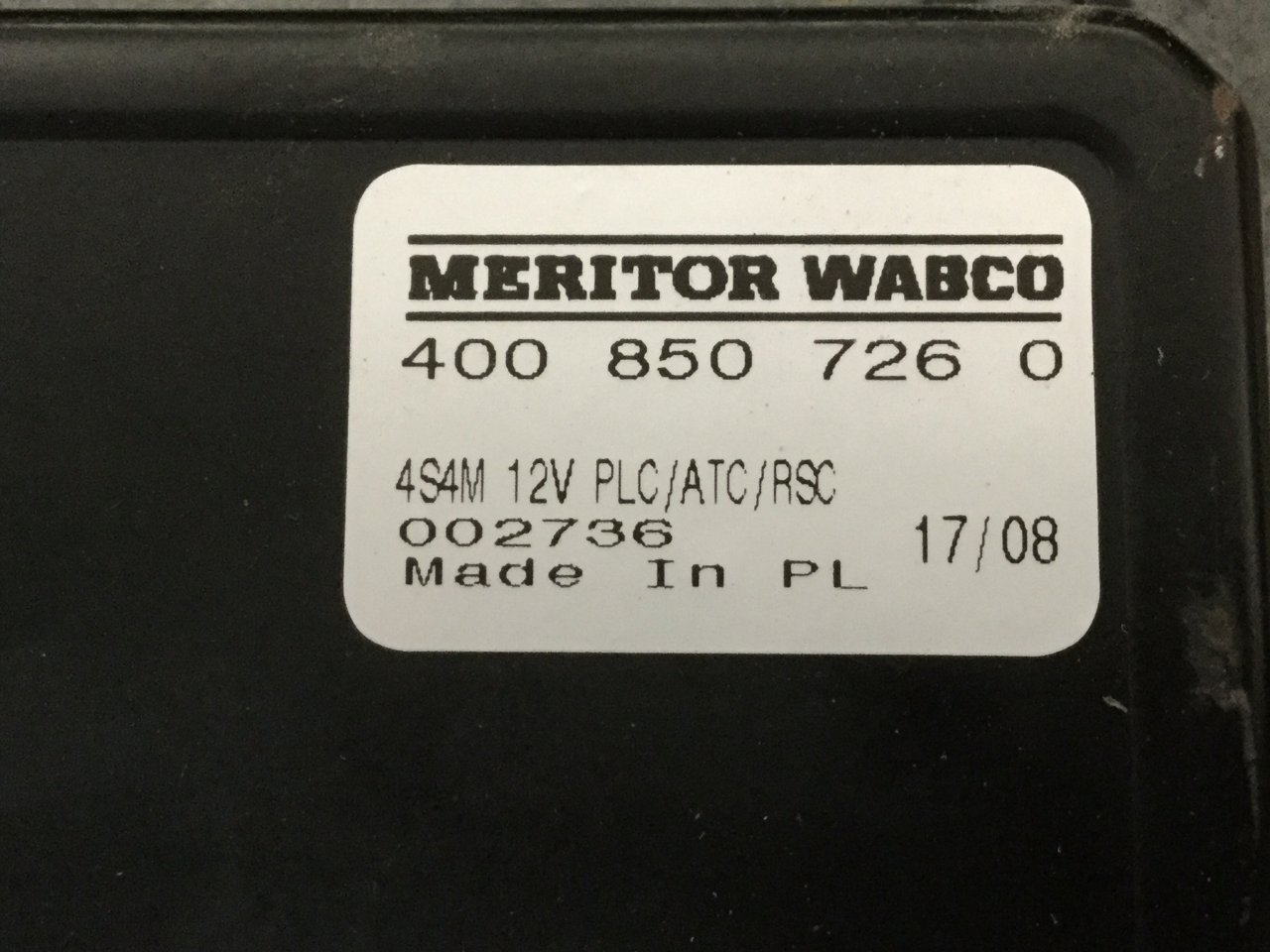 Freightliner Cascadia Brake Control Module (ABS) - 4460037260