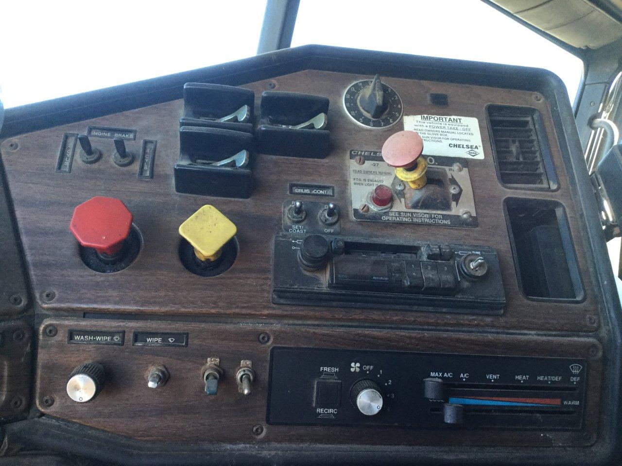 FREIGHTLINER FLB Dash Panel