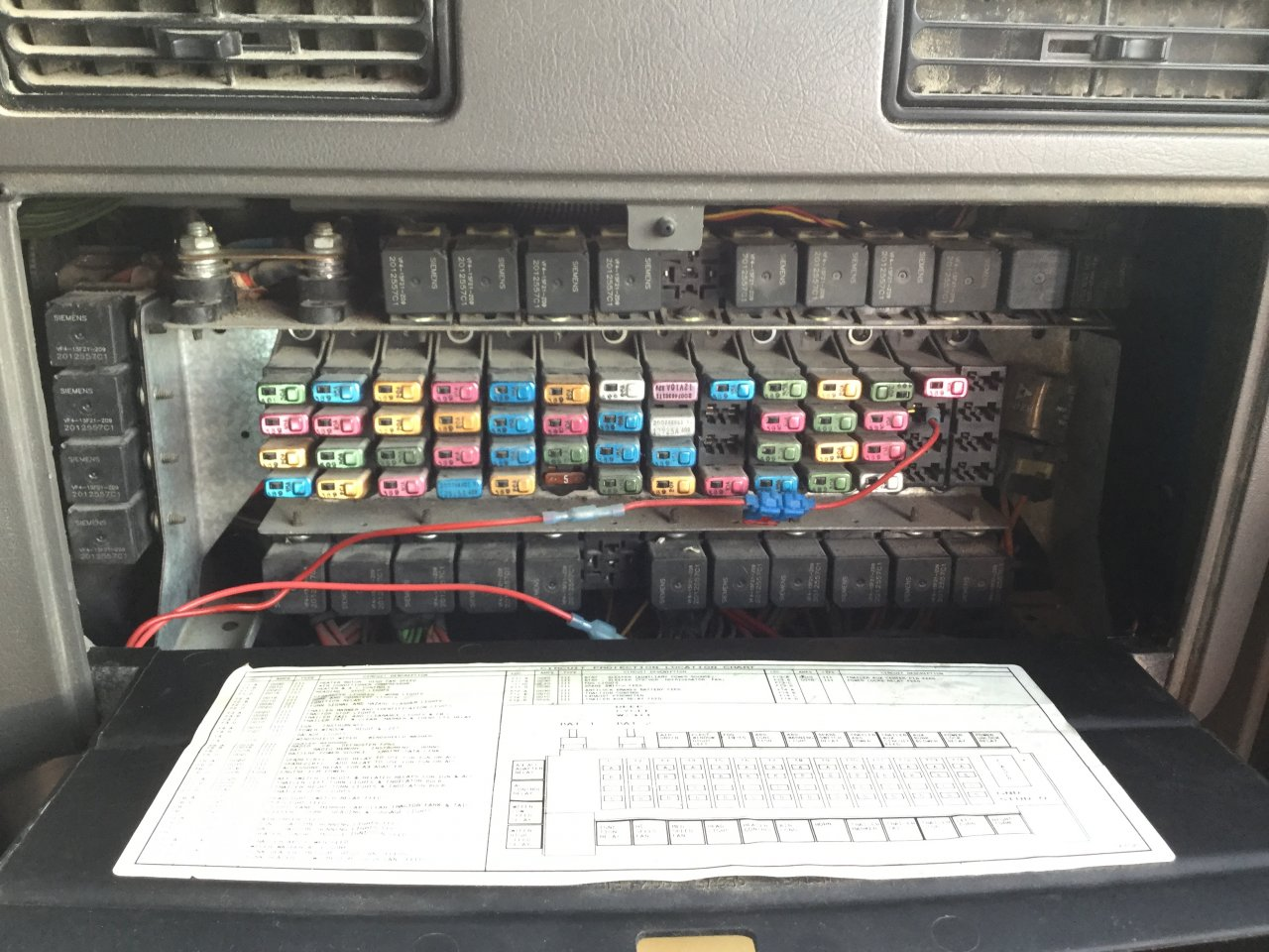 [WQZT_9871]  International 9200 Fuse Box | International 9200 Fuse Box |  | Vander Haag's