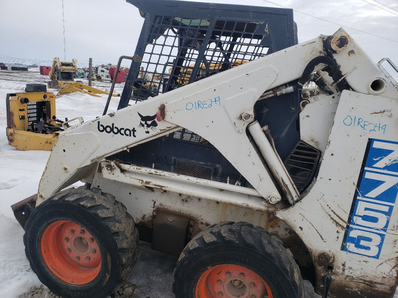 Bobcat 7753 Loader Arm - 6712115