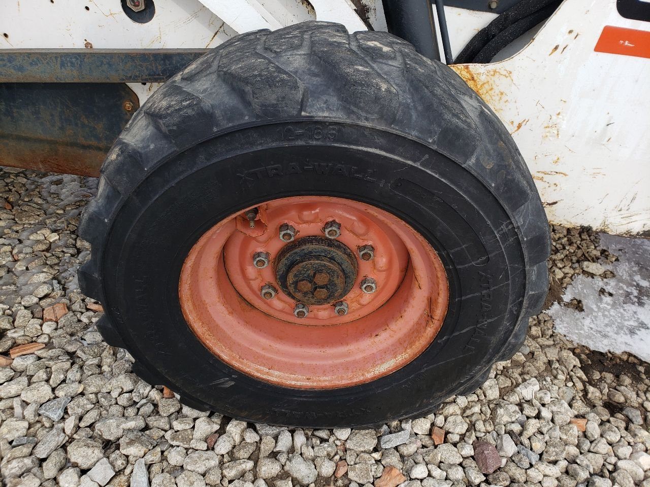 Bobcat 873 Tire and Rim