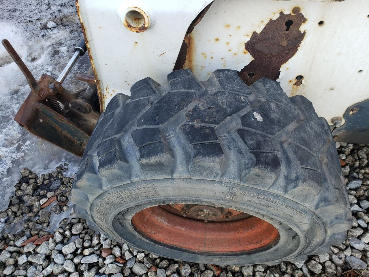 Bobcat S300 Tire and Rim