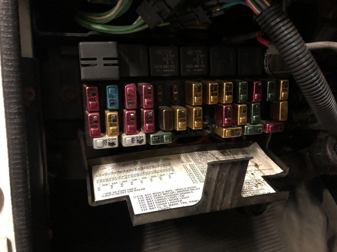 international 4900 fuse box  vander haag's