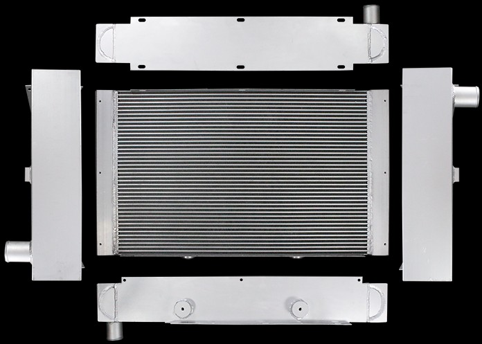 Blue Bird D3FE Radiator