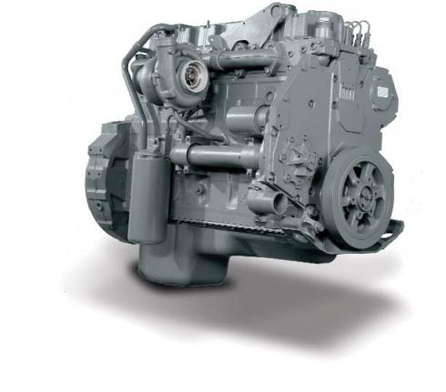 INTERNATIONAL DT466E Engine Assembly