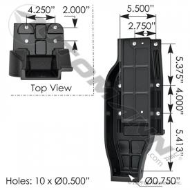 International 9900 Brackets, Misc