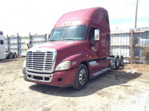 recent arrival FREIGHTLINER CASCADIA