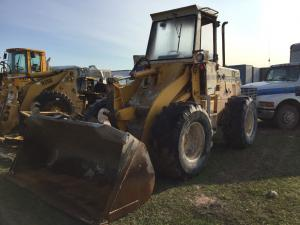 recent arrival INTERNATIONAL 515WHEELLOADER