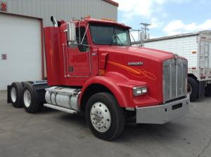 recent arrival KENWORTH T800