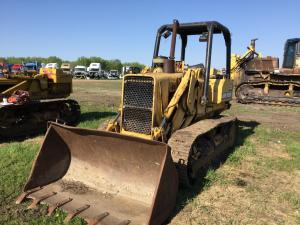 JOHN DEERE 555A Equipment Parts Unit
