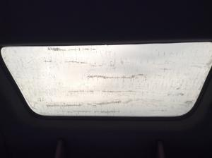 VOLVO VNL Roof Glass
