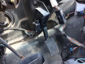 FORD F650 Throttle Pedal