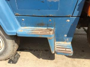FORD LN750 Step (Frame, Fuel Tank, Faring)