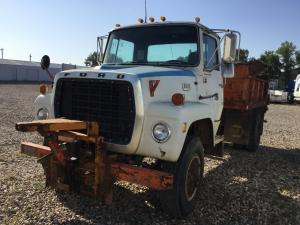 recent arrival FORD L800