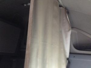 Freightliner Interior Curtains On