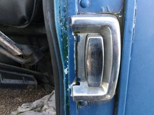 GMC ASTRO Latches and Locks