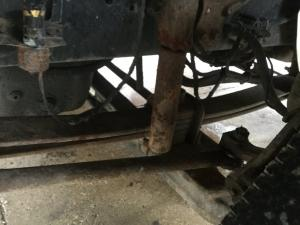 INTERNATIONAL 8600 Leaf Spring, Front