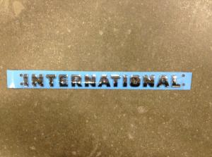 INTERNATIONAL 9200 Door Emblem