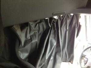 INTERNATIONAL PROSTAR Interior, Curtains