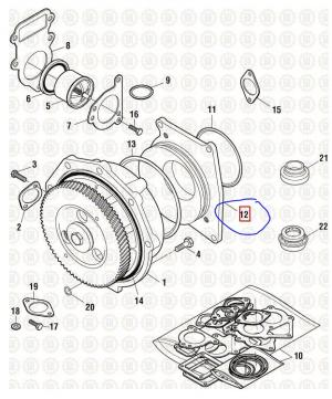 CAT C15 Engine, Misc. Parts