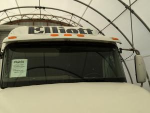 INTERNATIONAL 9400 Sun Visor (Exterior)