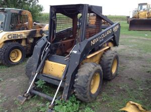NEW HOLLAND LX885 Equipment Parts Unit