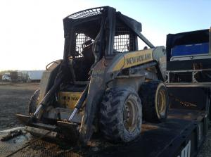 recent arrival NEW HOLLAND L185