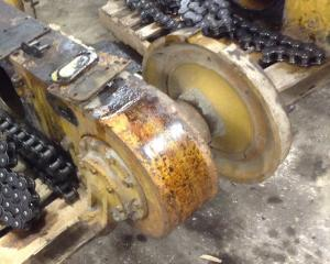 CAT 12 Axle Assembly, Rear