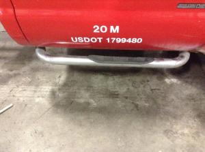 FORD FORD F550SD PICKUP Running Board