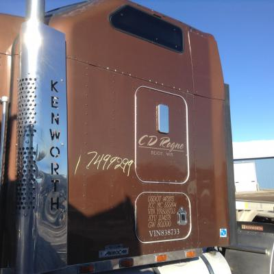 KENWORTH W900L Sleeper