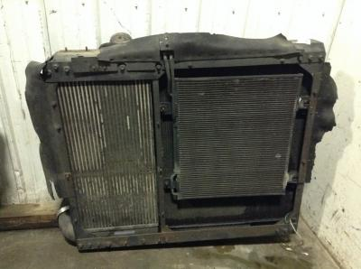 International 9900 Cooling Assembly. (Rad., Cond., ATAAC)