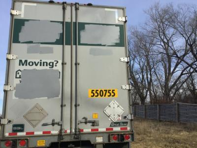 GREAT DANE TRAILER Trailer, Door