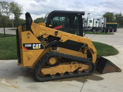 CAT 259D Equipment Units