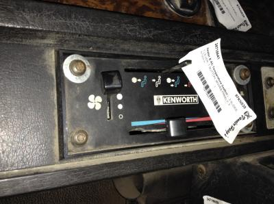 KENWORTH T800 Heater & AC Temperature Control