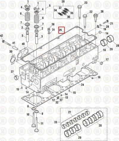 cummins isx for vanderhaags com 24 84 · cummins isx gasket engine valve cover