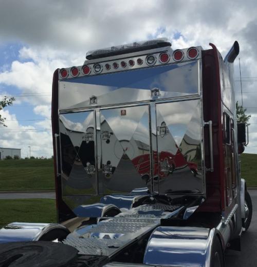 semi truck cab protectors headache