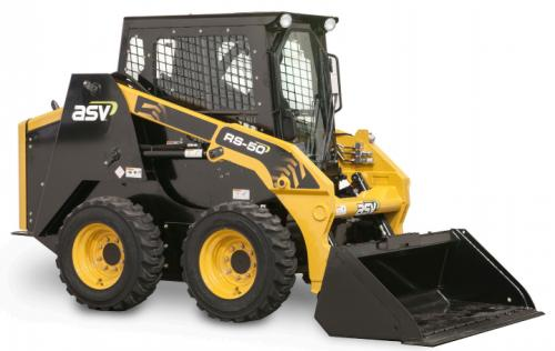 2018 Asv RS50 CWC Skid Steer Equipment Units