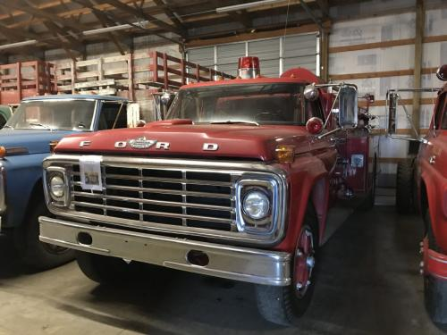 1973 Ford F750 Museum Unit