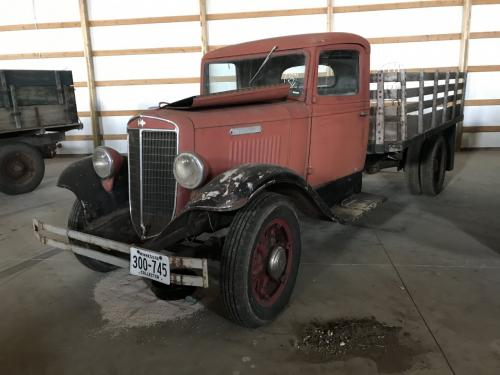 1936 International TRUCK Museum Unit