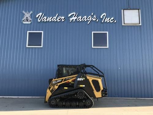 2021 Asv RT120 FORESTRY Skid Steer Equipment Units