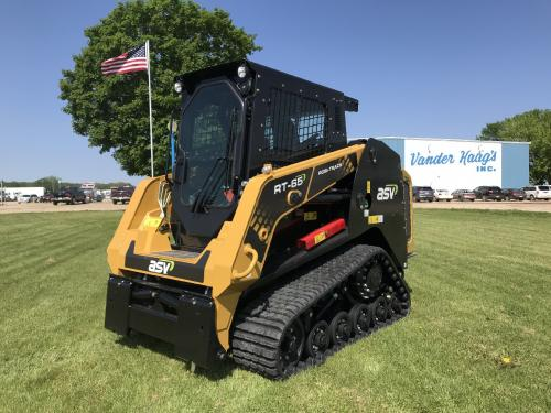 2021 Asv RT65AWC Skid Steer Equipment Units