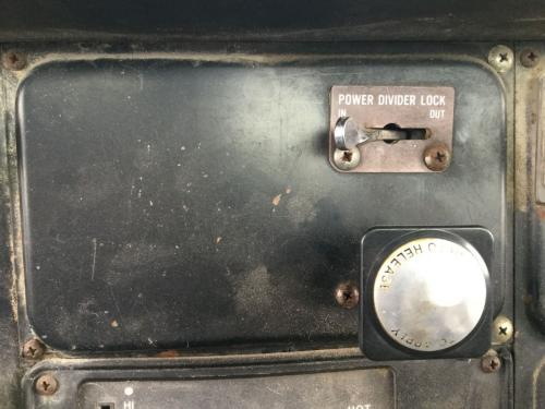 International S1900 Dash Panel