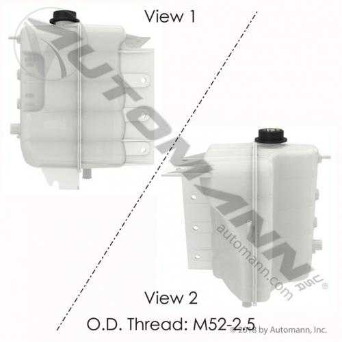 International 9200 Radiator Overflow Bottle