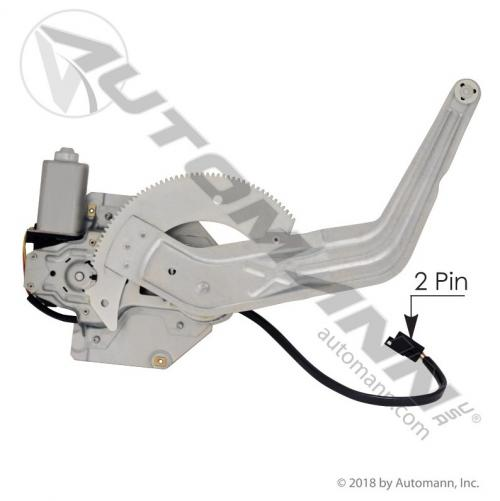 International 4900 Door Window Regulator, Front