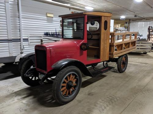 1923 International TRUCK Museum Unit