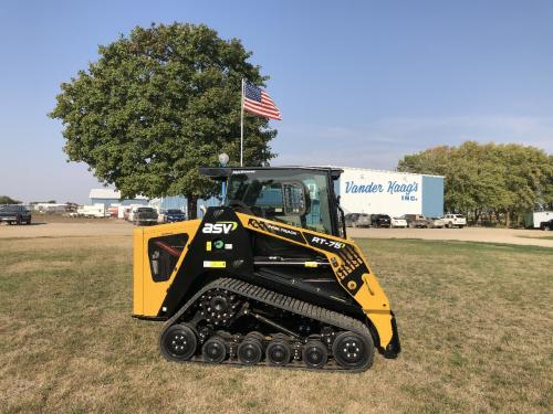 2020 Asv RT75 AWC Skid Steer Equipment Units