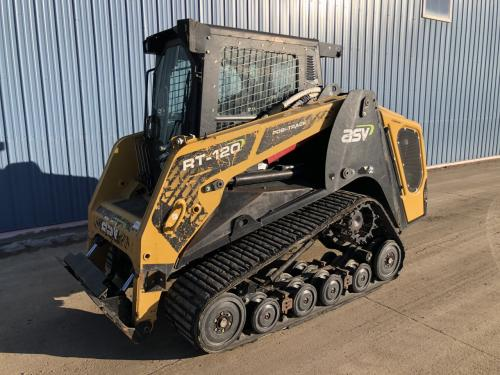 2018 Asv RT120 Skid Steer Equipment Units