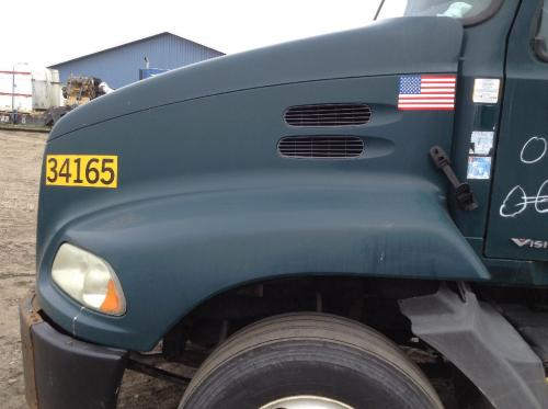 2005 Mack CX VISION Hood: Green