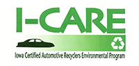 Iowa Certified Automotive Recyclers Environmental Program Logo